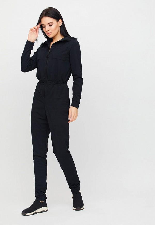 женский комбинезон karree, черный