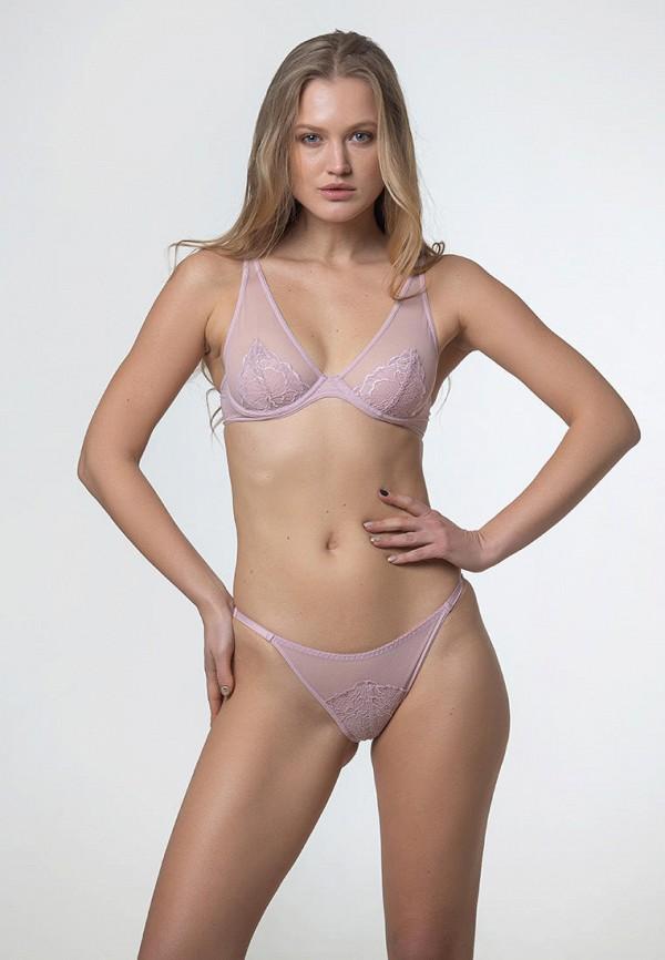 женский бюстгальтер на косточках texaleksa, розовый