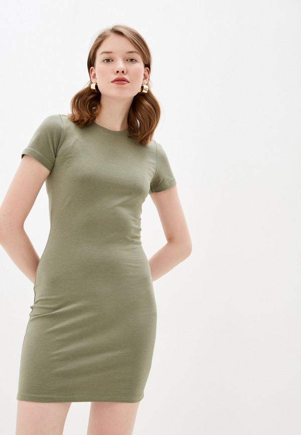 женское платье-футболки befree, хаки