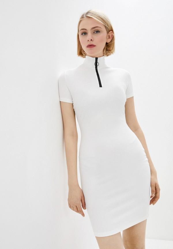 женское платье-свитеры befree, белое