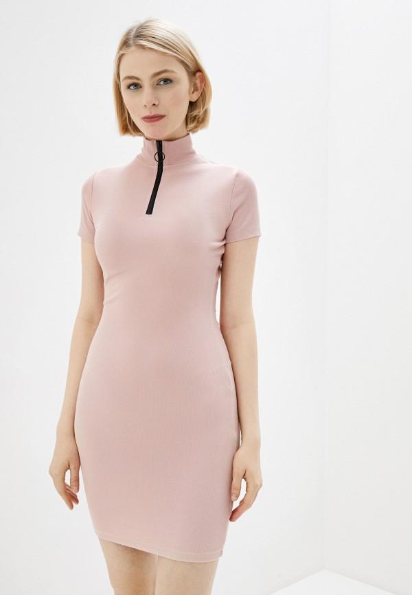 женское платье-свитеры befree, розовое