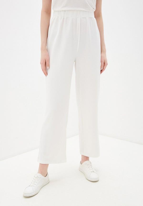 женские повседневные брюки befree, белые