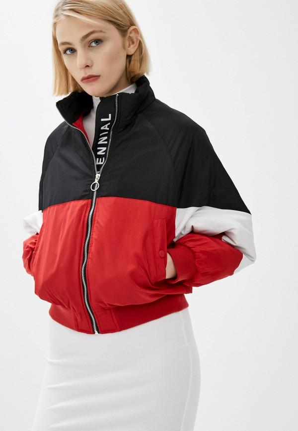 женская легкие куртка befree, красная