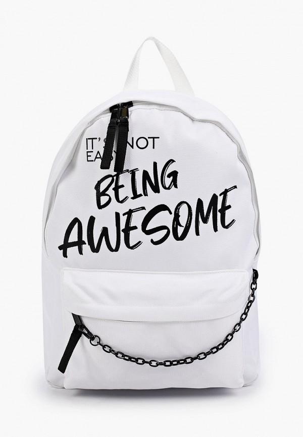 женский рюкзак befree, белый