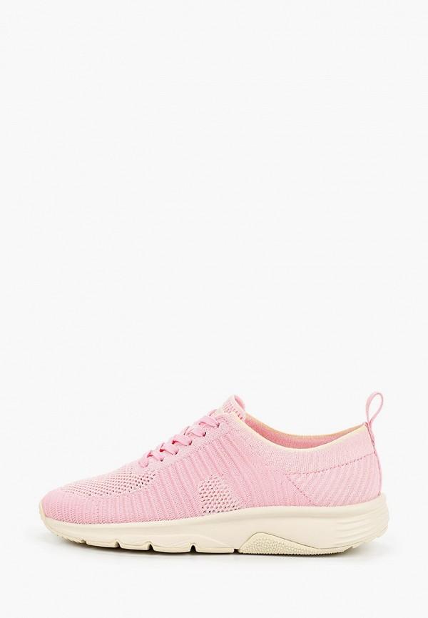 женские низкие кроссовки camper, розовые