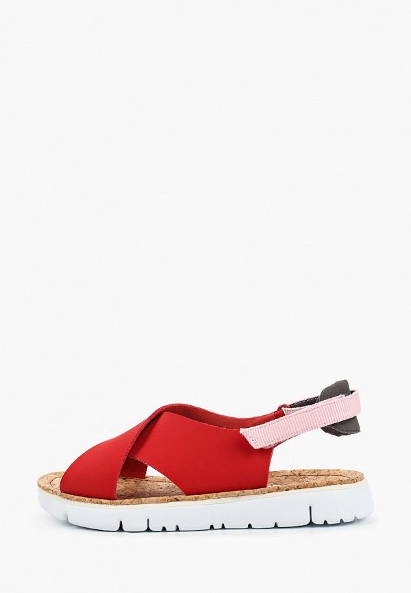 женские сандалии camper, красные