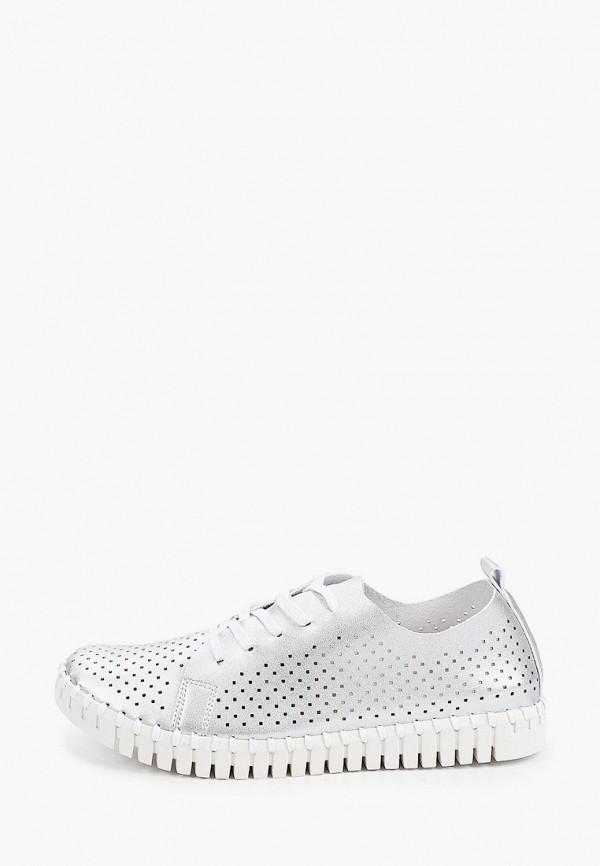 женские низкие ботинки bridget, серебряные