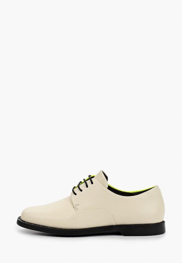женские низкие ботинки camper, белые