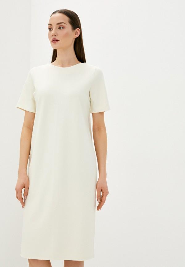женское повседневные платье sela, белое