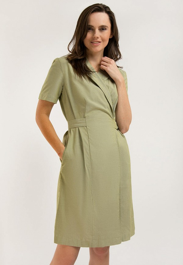 Платье Finn Flare зеленого цвета