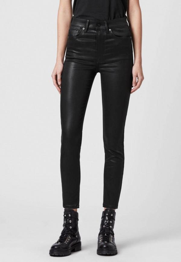женские джинсы allsaints, черные