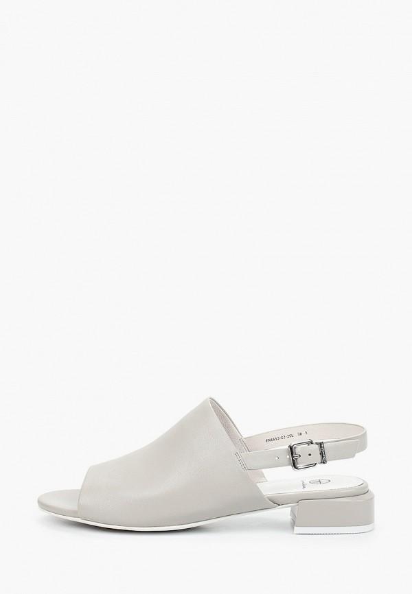 женские сандалии эконика, серые