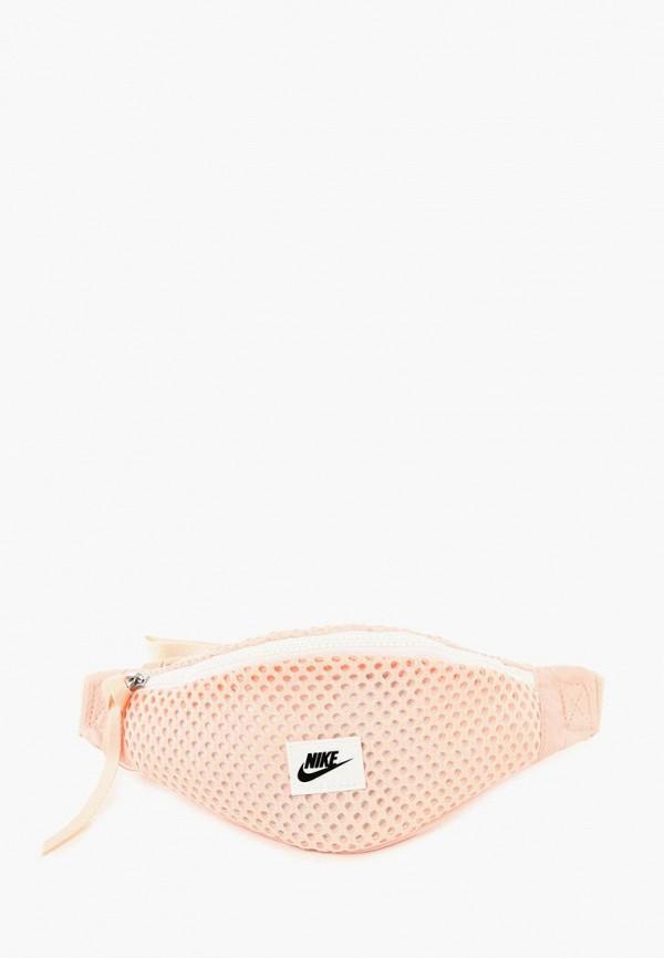 женская сумка nike, розовая