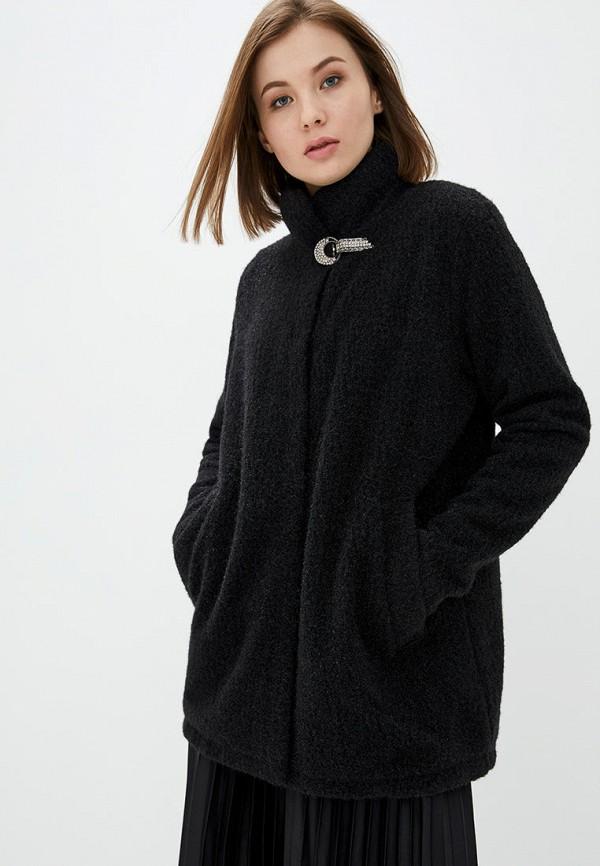 женское пальто modniy oazis, черное