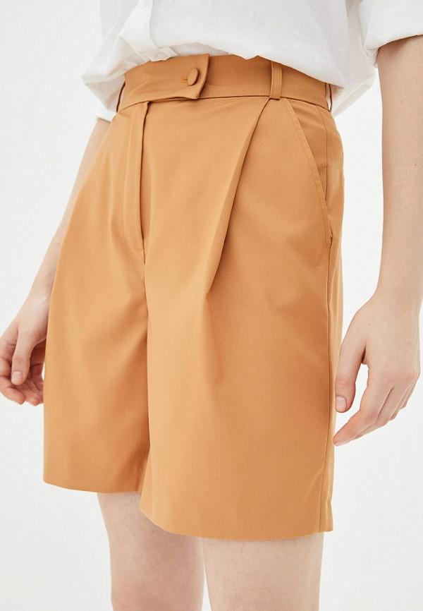 женские повседневные шорты iraro, оранжевые