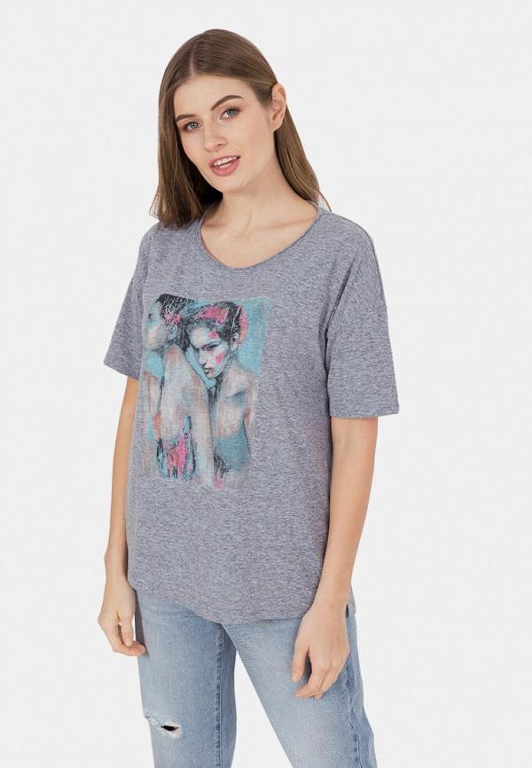 женская футболка mr520, серая