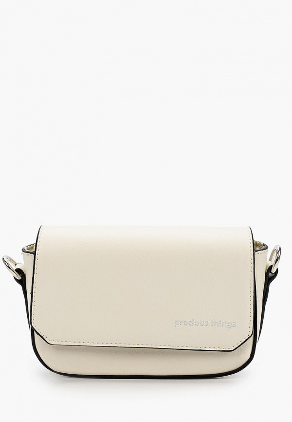 женская сумка через плечо befree, бежевая
