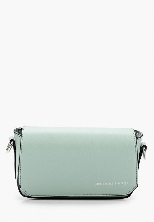 женская сумка через плечо befree, зеленая