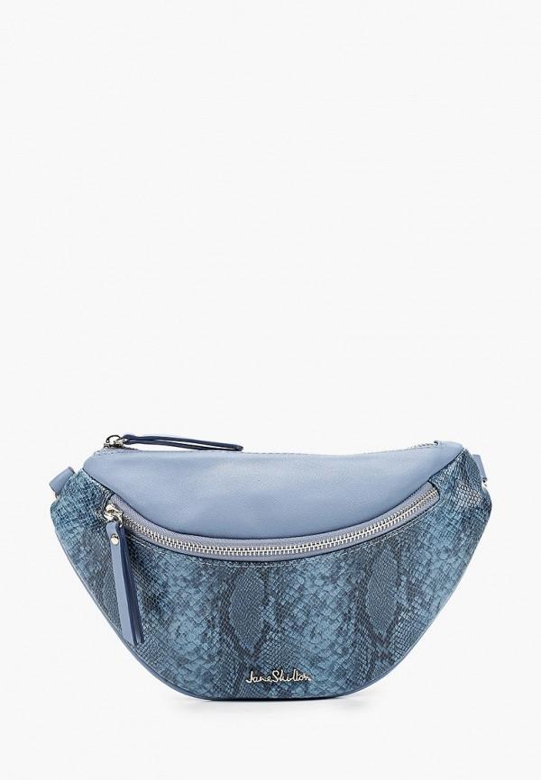 женская поясные сумка jane shilton, голубая