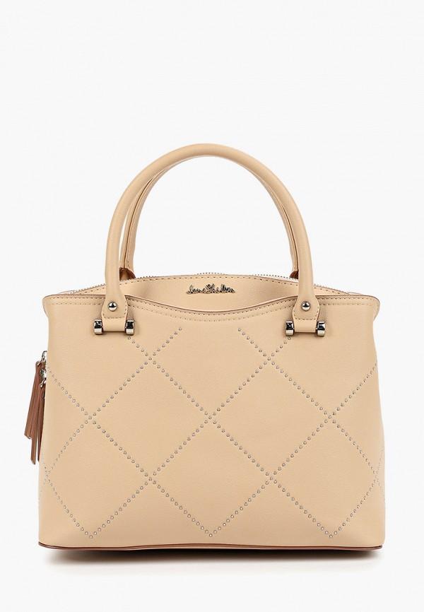 женская сумка с ручками jane shilton, розовая