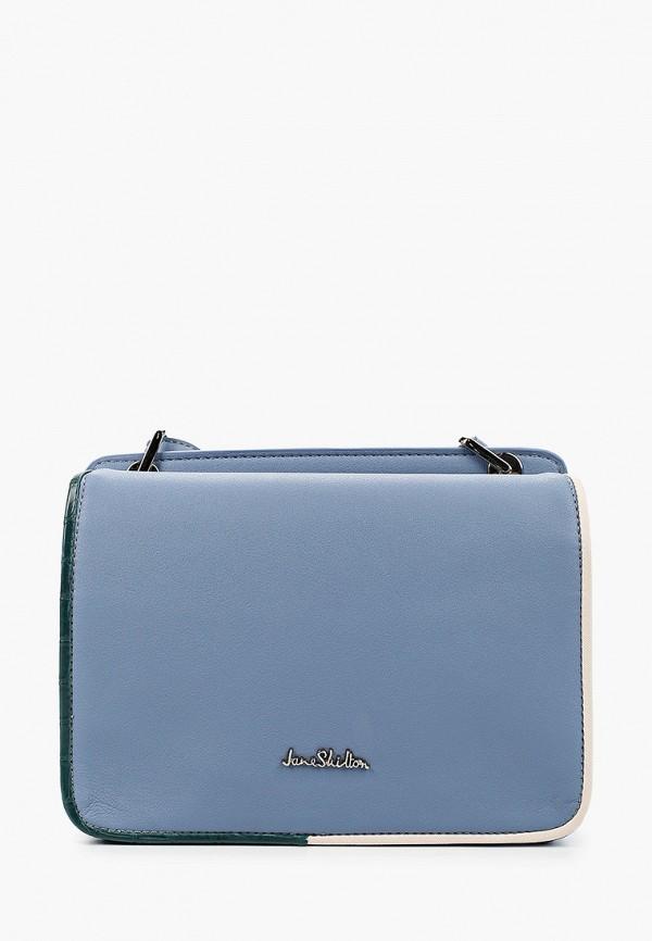 женская сумка через плечо jane shilton, голубая