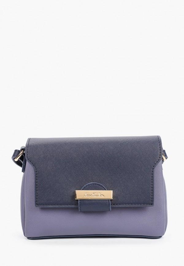 женская сумка через плечо jane shilton, синяя
