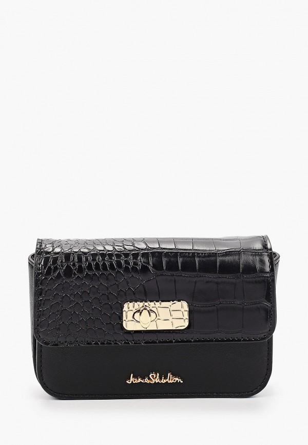 женская поясные сумка jane shilton, черная
