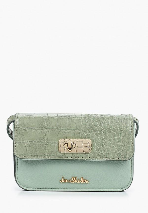 женская поясные сумка jane shilton, зеленая