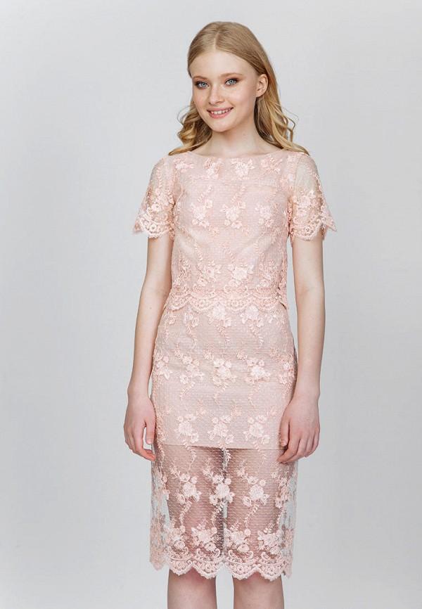 женский костюм fors, розовый