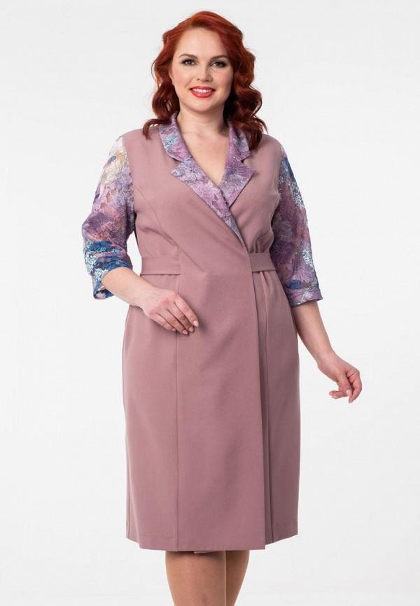 женское платье wisell, розовое