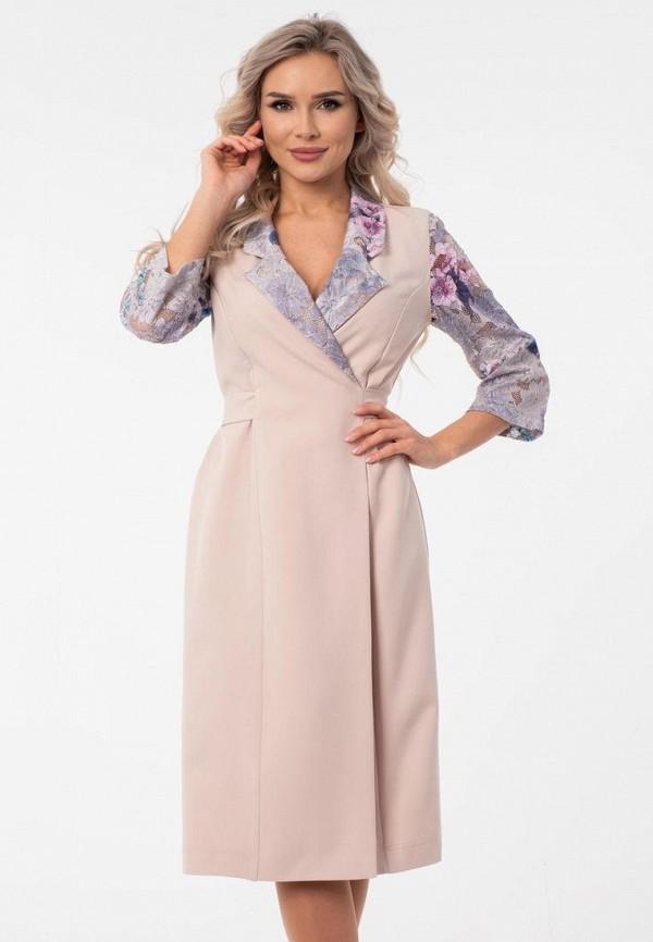 женское платье wisell, бежевое