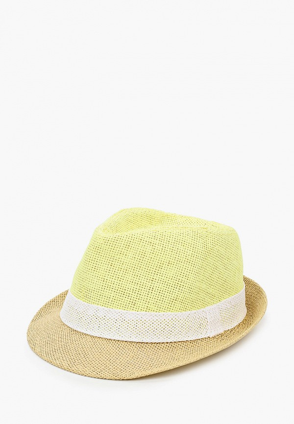 женская шляпа красная жара, желтая