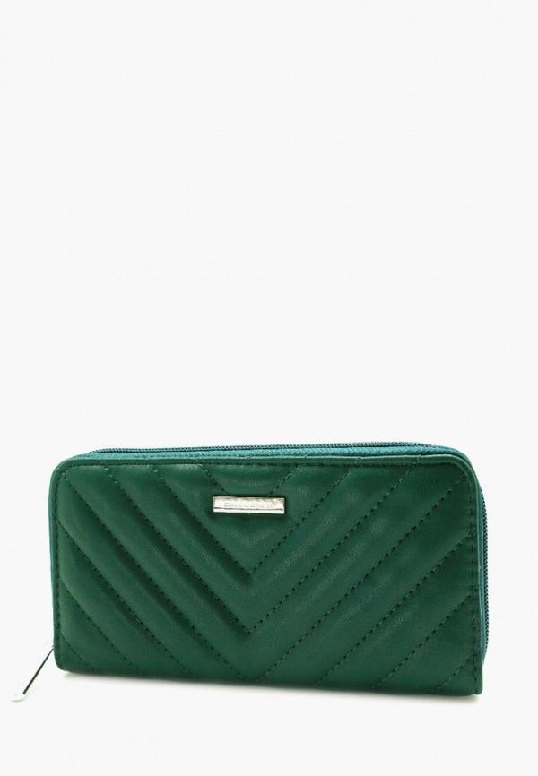 женский кошелёк david jones, зеленый