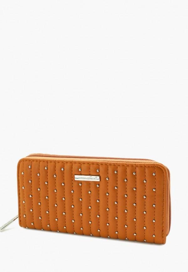 женский кошелёк david jones, коричневый