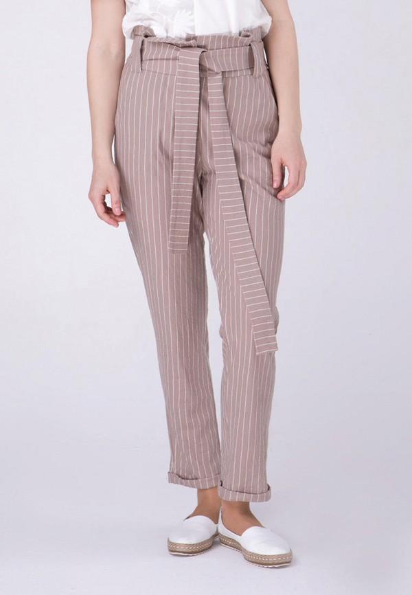 женские повседневные брюки ricamare, бежевые