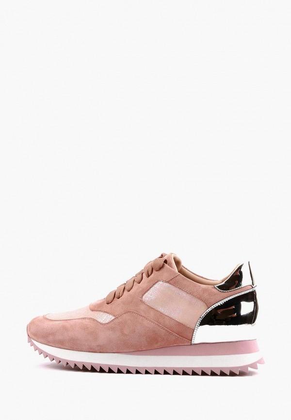 женские кроссовки leberdes, розовые