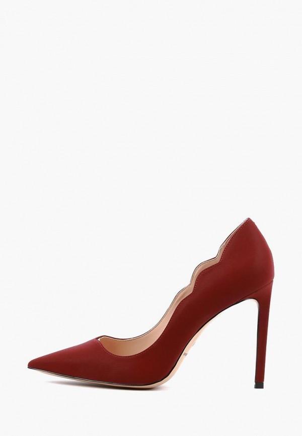 женские туфли sasha fabiani, бордовые