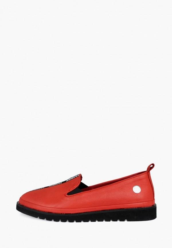 женские лоферы blizzarini, красные