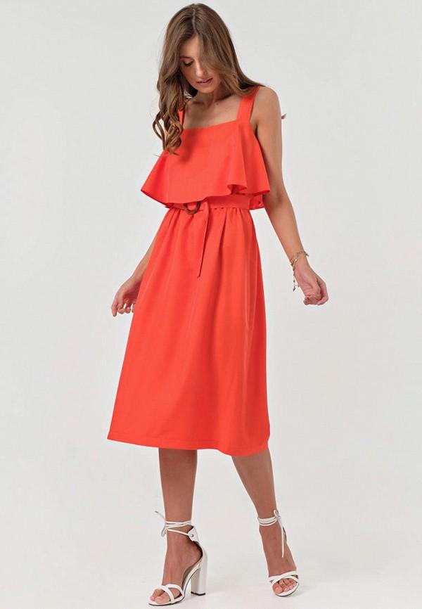 Платье Fly кораллового цвета