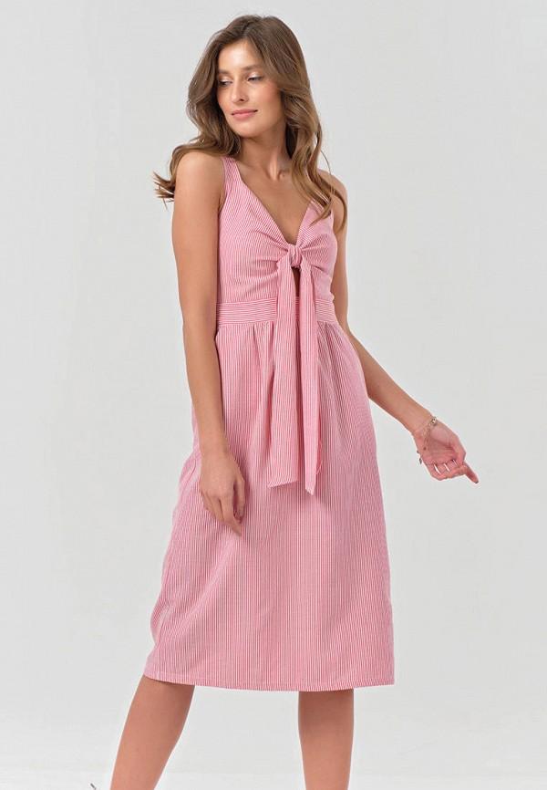 женский сарафан fly, розовый
