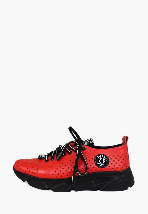 женские кроссовки blizzarini, красные