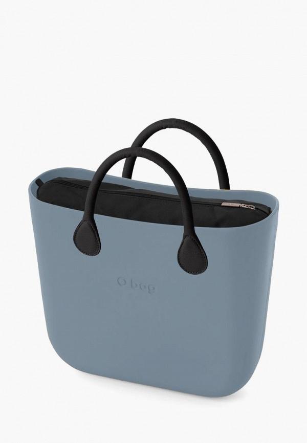 женская сумка o bag, голубая
