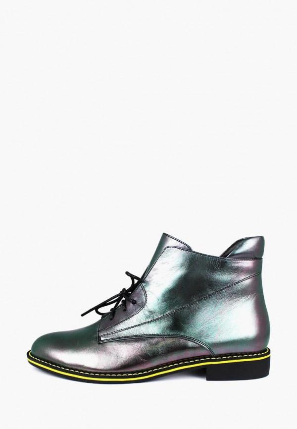 женские ботинки blizzarini, серебряные