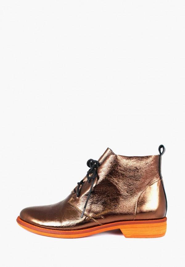 женские ботинки blizzarini, золотые