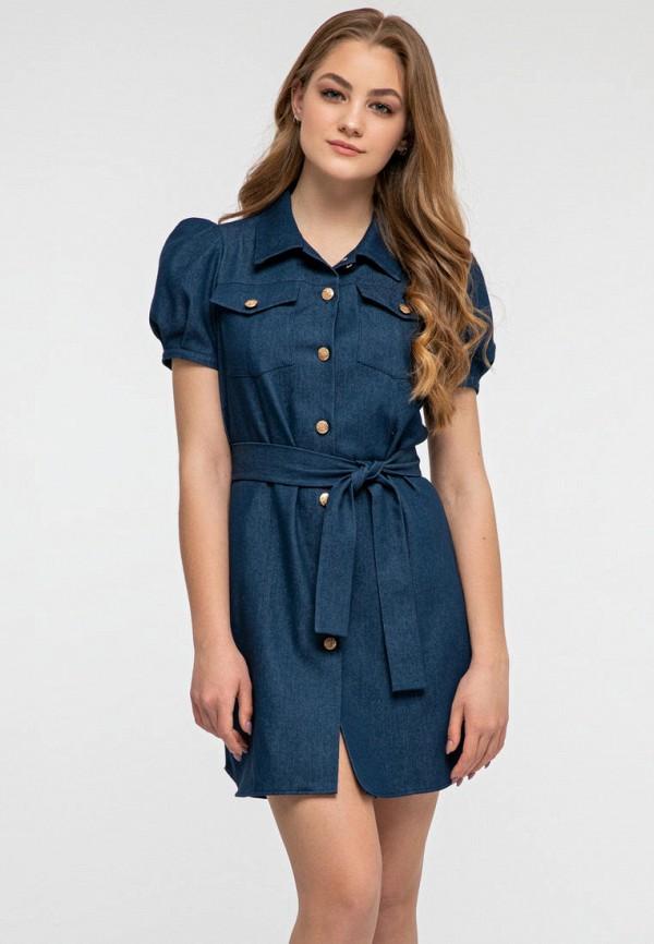 женское платье itelle, синее