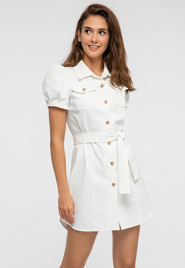 женское платье itelle, белое