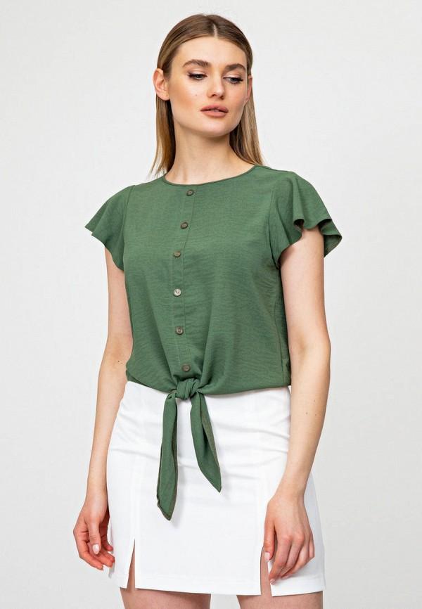 женская блузка itelle, зеленая