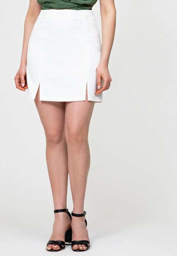 женская зауженные юбка itelle, белая