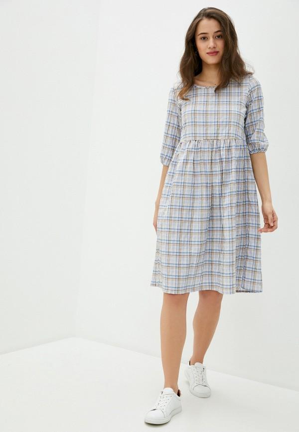Фото 2 - Женское платье Lika Dress разноцветного цвета