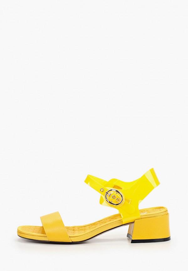 женские босоножки mascotte, желтые